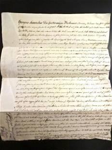 1770 Manuscript English Recovery in Latin London