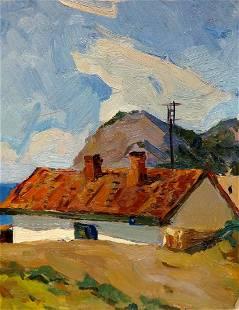 Oil painting New World Gavrilyuk Nikolay Stepanovich