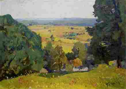 Oil painting Summer Gantman Moses Faybovich