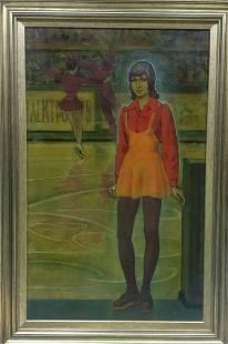 Oil painting Debutante Strelnikov Vladimir