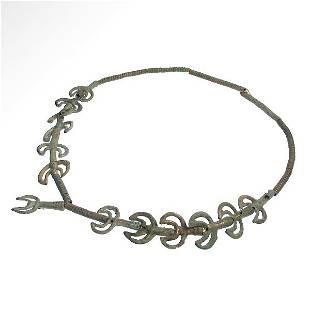 European Bronze Age Complete Necklace, Central