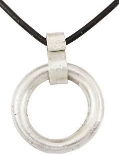 CELTIC PROSPERITY RING NECKLACE C.400-100 BC