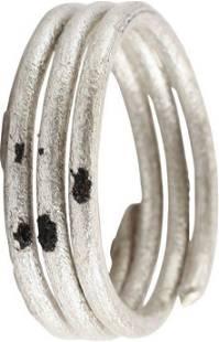 ANCIENT VIKING COIL RING C.800-1050 AD SZ 10 ¾
