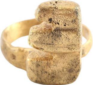 ROMAN KEY RING C.100-300 AD JEWELRY SIZE 10