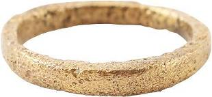 RARE VIKING BEARD RING, 10th-11th C. AD