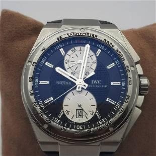 IWC - Ingenieur Chronograph Black Dial - Ref: IW3784 -