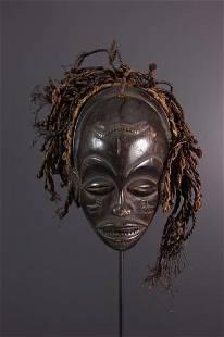 Chokwe Mwana Pwo mask - Angola - African Art Tribal Art
