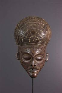Chokwe Pwo Mask - Angola - African Art Tribal Art