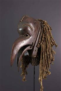 Chokwe Animal Mask - Angola - African Art Tribal Art
