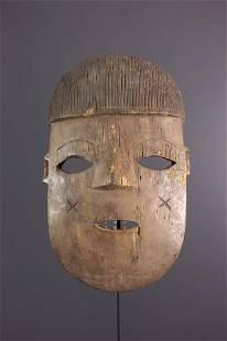 Bira, Hunde mask - DRC Congo - African Art Tribal Art