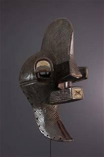 Songye Kalebwe Mask - DRC Congo - African Art Tribal