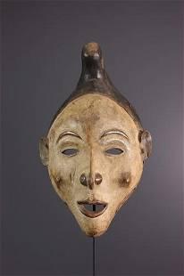 Kongo Yombe mask - DRC Congo - African Art Tribal Art