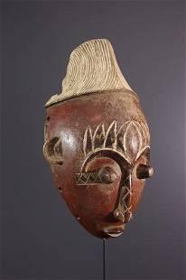 Mangbetu Mask - DRC Congo - African Art Tribal Art
