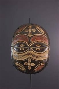 Teke Kidumu mask shield - DRC Congo - African Art