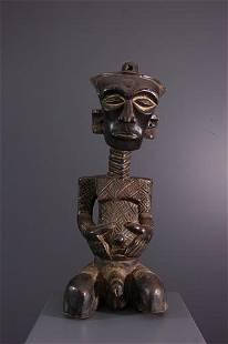Lulua, Luluwa statue - DRC Congo - African Art Tribal