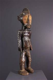 Male figure Ngbaka - DRC Congo - African Art Tribal Art