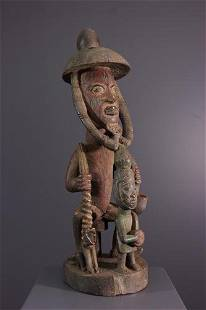 Yoruba rider statue - Nigeria - African Art Tribal Art