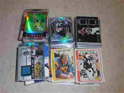 HUGE FOOTBALL CARD COLLECTION LOADED WITH BOOK VALUE