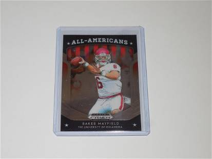 2019 PRIZM DRAFT BAKER MAYFIELD ALL AMERICANS SOONERS