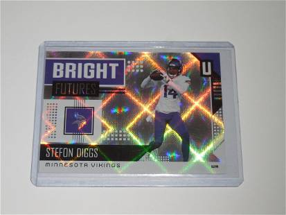 2018 PANINI UNPARALLELED STEFON DIGGS BRIGHT FUTURES