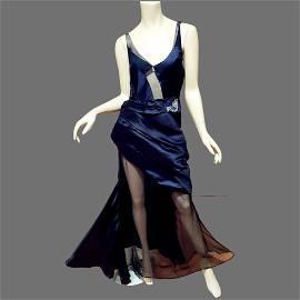 Nina Ricci Paris Haute Couture Rare silk numbered Gown
