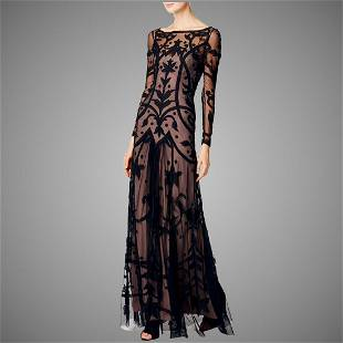 Vtg Temperley London Couture Archive Tattoo Embroidered