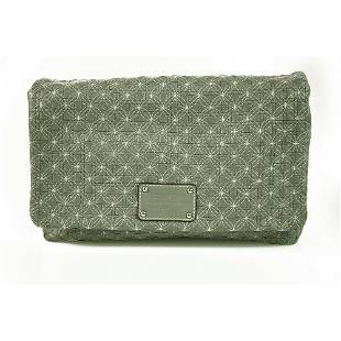 Dolce & Gabbana D&G Miss Lexington Gray Leather Quilted