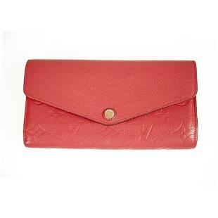Louis Vuitton Sarah Dark Pink Monogram Empreinte