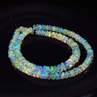 23.15 Ct Natural 135 Drilled Fire Opal Beads