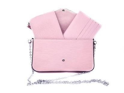 Louis Vuitton Epi Leather Felicie Pochette Chain Clutch