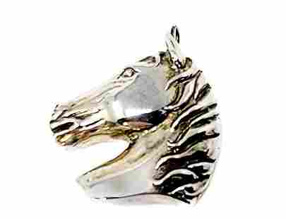 Esther Gallant Sterling Silver Horse Pendant