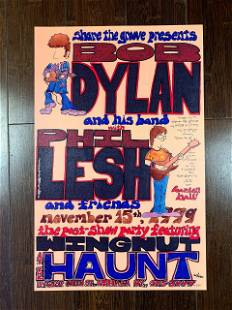 Bob Dylan w/Phil Lesh at The Haunt in Ithaca New York