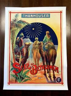 """Star Of Bethlehem - Thanhouser (1912) 30"""" x 40"""" UK"""