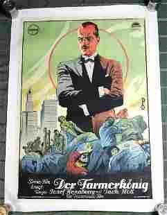"""Making Of A Man (Der Farmerkonig) (USA, 1922) 35"""" x 49"""""""