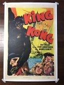 King Kong (r.1942) US 1 SH Movie Poster LB