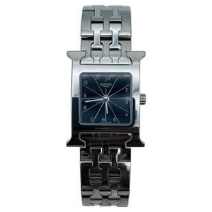 Hermes Paris Stainless Steel HH1.210 Quartz 23mm Wrist