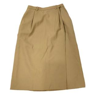 Yves Saint Laurent Rive Gauche Paris Brown Skirt, Size