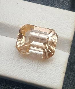 Paired Golden Topaz Semi Precious stones - 22.80 Carats