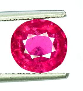Rubelite Tourmaline Gemstone Natural cut gemstone