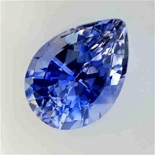 1.87 Cts Natural Orange Oval Sapphire