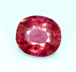 Rubelite Tourmaline Gemstone , Tourmaline Cut Stone -