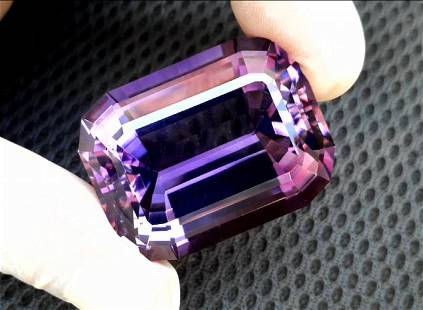Amethyst, 174.40 Cts Natural Top Color & Cut Amethyst