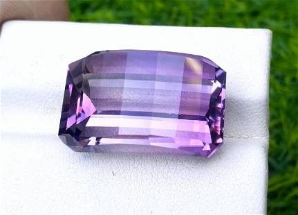Amethyst, 30.95 Cts Natural Top Color & Cut Amethyst