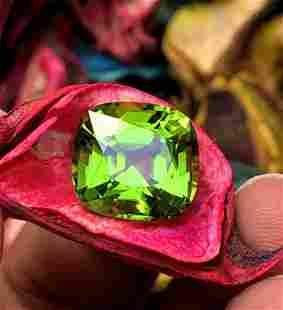 Peridot Gemstone , Natural Peridot Gemstones - 9.10