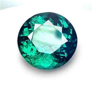 3.99 Cts Natural Green Apatite