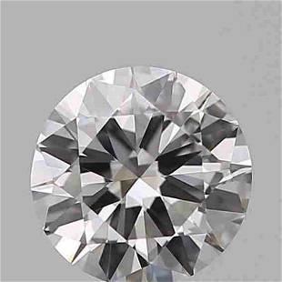 GIA CERT 0.75 CTW ROUND DIAMOND DIF