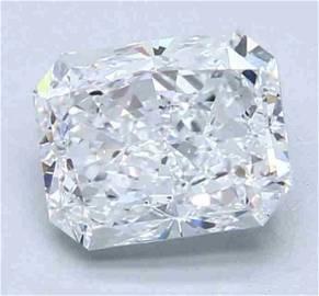 GIA CERT 2.01 CTW RADIANT DIAMOND FVS2