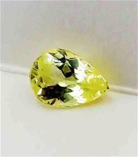 Yellow Canary Tourmaline- 1.55 ct