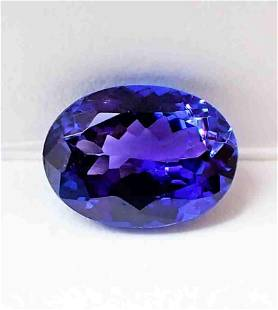 Tanzanite AAA Color Certified - 1.98 ct