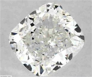 GIA CERT 1.00 CTW CUSHION DIAMOND EVS1